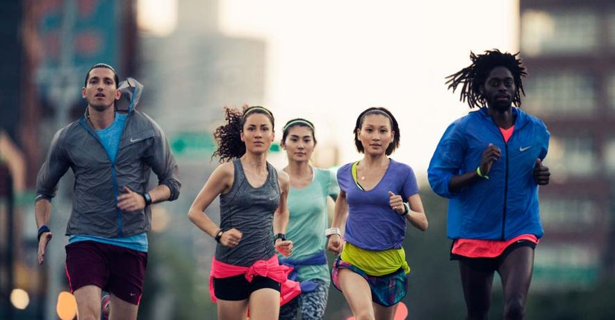 group running
