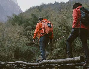 outdoor clothes hiking