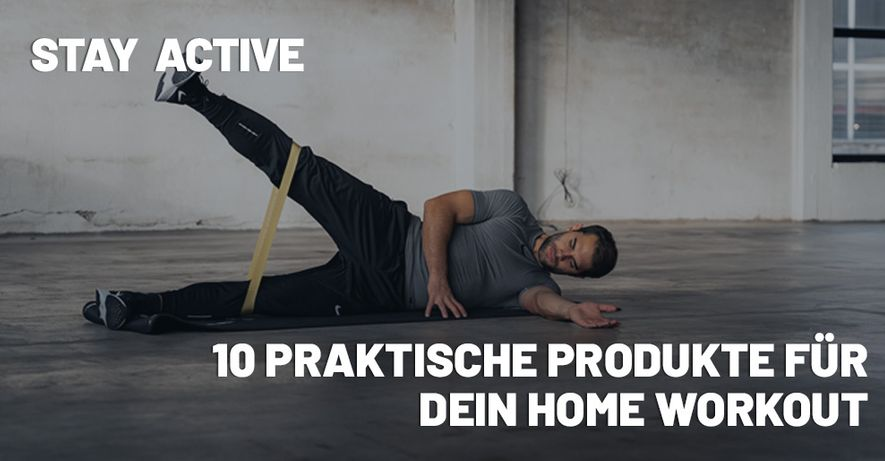 Stay Active Home Workout Hero