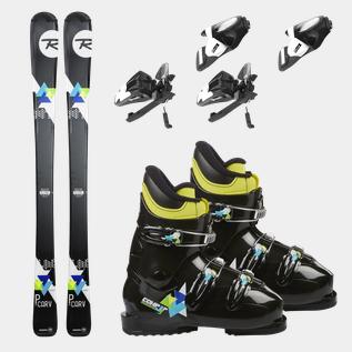 PCarv 1 Blue 1920, Skischuh, Kinder