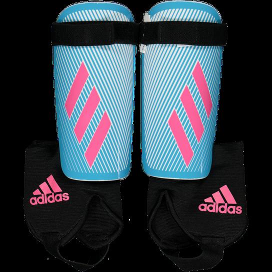 Adidas X YOUTH Schienbeinschoner Kinder bright cyan im
