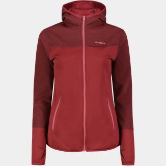Marmot Stretch Fleece Jacket, Fleecejacke Damen Schwarz