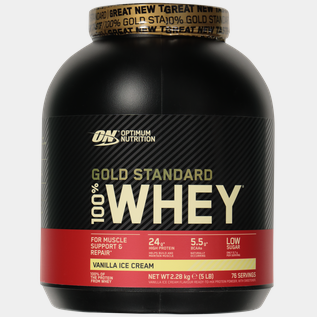 100 % Whey Gold Standard 2270 g Vanilla Ice Cream