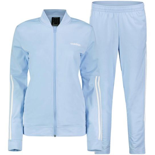 adidas sportanzug damen gr 40 in blau