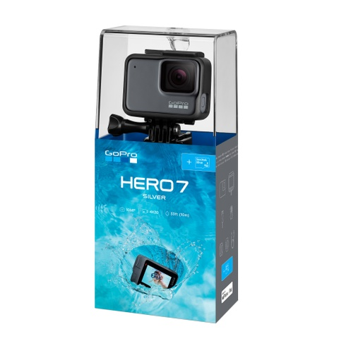 HERO7 Silver Special Bundle, Actionkamera-Set