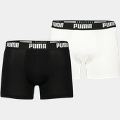Puma Basic Boxer 2p Blue / Grey Melange
