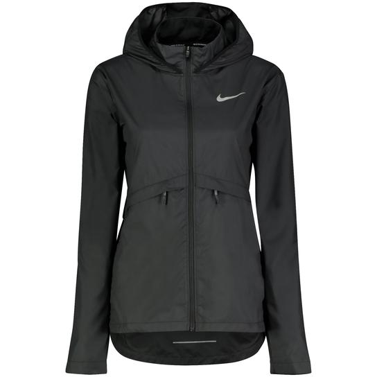 Essential Hooded Running Jacket, Laufjacke, Damen